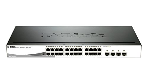 D-link 24-Port Layer2 Smart Managed Gigabit Switch