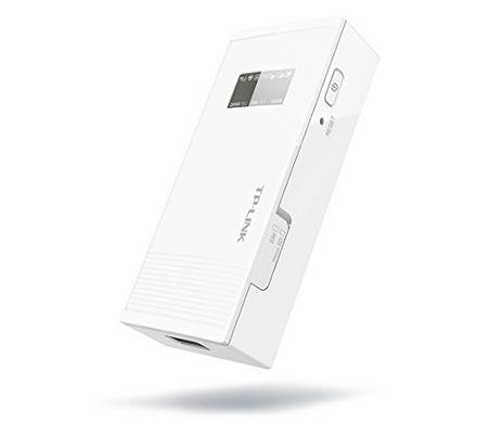 tp-link Mobile 3G/UMTS Wireless Router Wi-Fi Hotspot Powerbank Plug-Type F (EU)