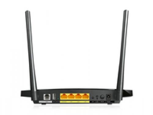 tp-link 300Mbit/s Wireless N Gigabit ADSL2+ Modem Router (IT Version) - Plug-Type C (EU) – Bild 2