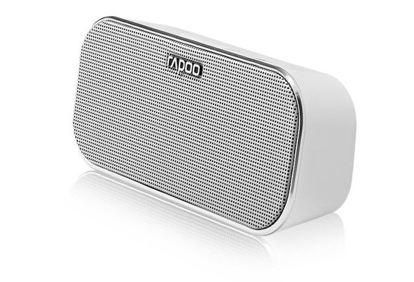 RAPOO A500 Mobile Speaker, 2x3 W, Bluetooth, NFC, AUX-in, 150 Hz - 20 KHz, Li-Ion, 10h, White – Bild 2