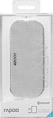 RAPOO A500 Mobile Speaker, 2x3 W, Bluetooth, NFC, AUX-in, 150 Hz - 20 KHz, Li-Ion, 10h, White – Bild 3