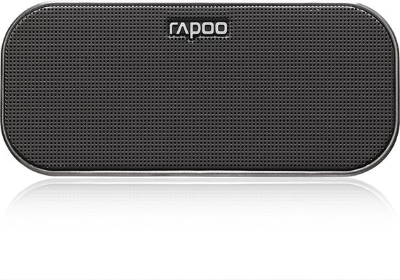 RAPOO A500 Mobile Speaker, 2x3 W, Bluetooth, NFC, AUX-in, 150 Hz - 20 KHz, Li-Ion, 10h, Black – Bild 4