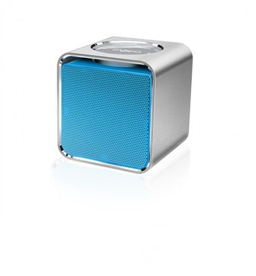 RAPOO A300 Mobile Speaker, 3 W, Bluetooth, NFC, AUX-in, 150 Hz - 20 KHz, Li-Ion, 12h, Blue – Bild 1