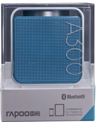 RAPOO A300 Mobile Speaker, 3 W, Bluetooth, NFC, AUX-in, 150 Hz - 20 KHz, Li-Ion, 12h, Blue – Bild 2