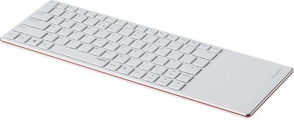 Rapoo E6700 Wireless Keyboard Bluetooth 3.0 red (DEU Layout - QWERTZ) – Bild 1
