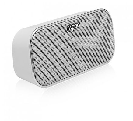 Rapoo A500 Mobile Speaker, 2x3 W, Bluetooth, NFC, AUX-in, 150 Hz - 20 KHz, Li-Ion, 10h, White – Bild 1