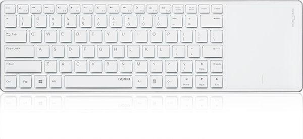 Rapoo E2800P Keyboard E2800P 5GHz RF USB (DEU Layout - QWERTZ) – Bild 2