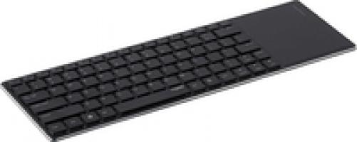 Rapoo E2800P Keyboard Wireless Touchpad Keyboard 5 GHz 82 Tasten Li-Ion 10m Schwarz (DEU Layout - QWERTZ) – Bild 4