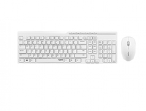 RAPOO X8100 - Wireless Optical Deskset white - (DEU Layout - QWERTZ) – Bild 1