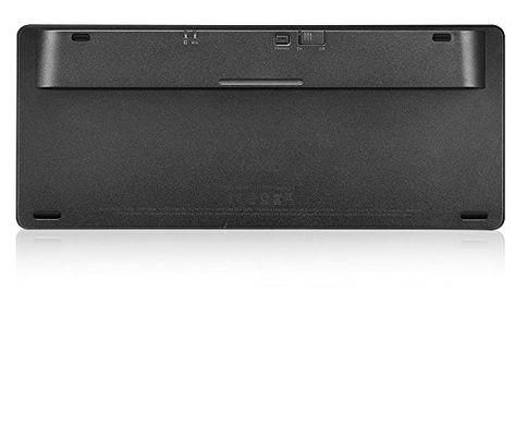 rapoo E6350 - Bluetooth Ultra-slim Keyboard black (DEU Layout - QWERTZ) – Bild 4