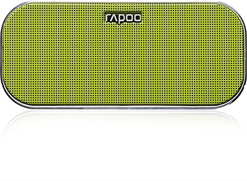 RAPOO A500 Mobile Speaker, 2x3 W, Bluetooth, NFC, AUX-in, 150 Hz - 20 KHz, Li-Ion, 10h, Green – Bild 2