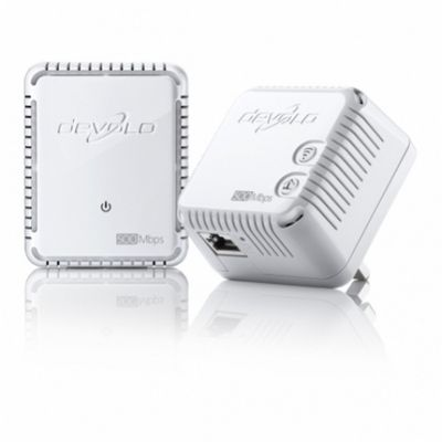 DEVOLO dLAN 500 WiFi Powerlan Starter Kit Plug-Type G (UK) – Bild 1
