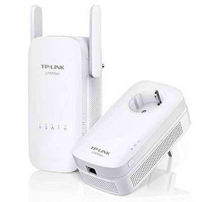 TP-LINK AV1200 Gigabit Powerline Wireless Range Extender Kit Plug-Type F (EU) – Bild 2