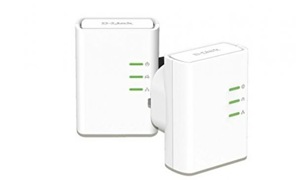 D-link 500 Mbps Powerline Adapter Starter Kit- Twin Pack Plug-Type G (UK) – Bild 1