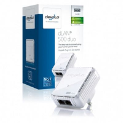 Devolo dLAN 500 Duo Powerline Adapter (UK) – Bild 3