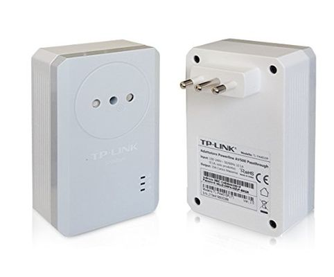 tp-link AV500 Powerline Adapter Passthrough 2-Pack Kit Plug-Type L (IT) – Bild 2