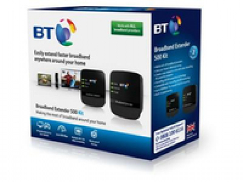 BT Broadband Extender 500 Kit Plug-Type G (UK)
