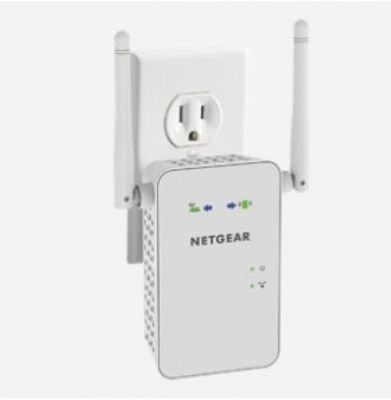 Netgear AC750 WLAN-Repeater (802.11ac Dualband-Gigabit) Plug-Type G (UK)
