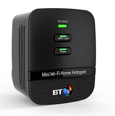 Bt British Telecom 079029 - BT Mini Wi-Fi Home Hotspot 500 Kit - Twin pack Plug-Type G (UK) – Bild 2