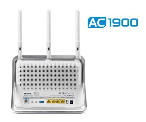 tp-link AC1900 Wireless Dual Band Gigabit ADSL2+ Modem Router (AT/CH Version) – Bild 3