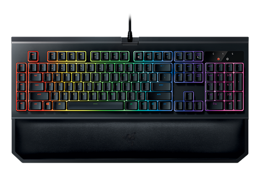 razer BlackWidow Chroma V2 Gaming Keyboard Green Switches (PRT Layout - QWERTY) – Bild 1