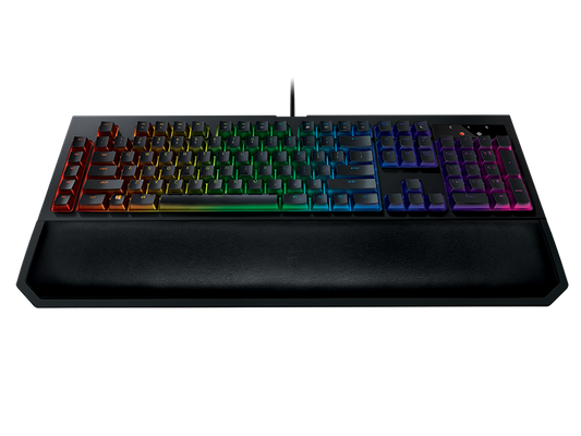 RAZER BlackWidow Chroma V2 Gaming Keyboard Green Switches (NORDIC Layout - QWERTY) – Bild 5