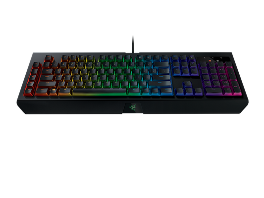 Razer BlackWidow Chroma V2 Gaming Keyboard Green Switches (CHE Layout - QWERTZ) – Bild 6
