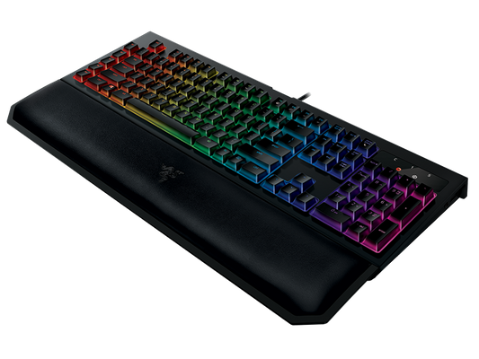 Razer BlackWidow Chroma V2 Gaming Keyboard Green Switches (CHE Layout - QWERTZ) – Bild 7