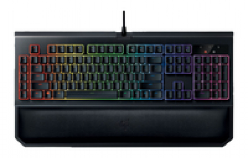 razer BlackWidow Chroma V2 Gaming Keyboard Yellow Switches (USA Layout - QWERTY) – Bild 4