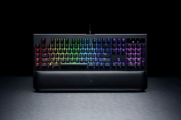 Razer BlackWidow Chroma V2 Gaming Keyboard Orange Switches (DEU Layout - QWERTZ) – Bild 5