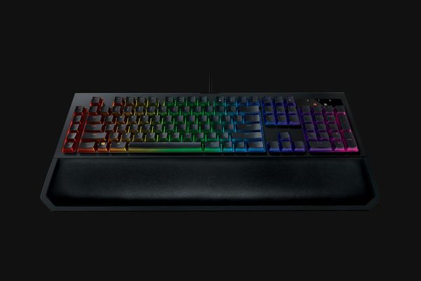 Razer BlackWidow Chroma V2 Gaming Keyboard Yellow Switches (DEU Layout - QWERTZ) – Bild 3