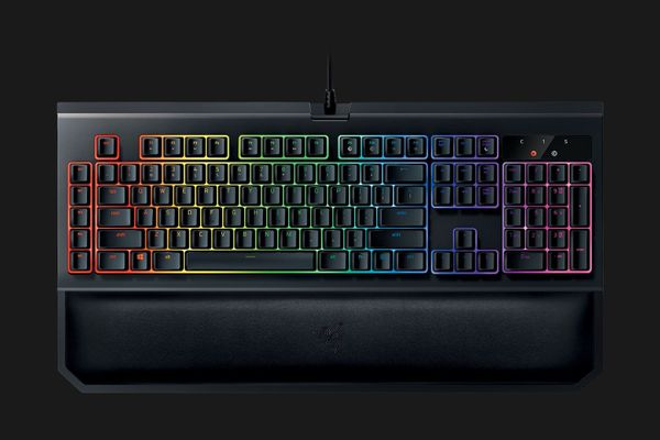 Razer BlackWidow Chroma V2 Gaming Keyboard Yellow Switches (DEU Layout - QWERTZ) – Bild 1
