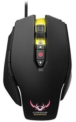 corsair Corsair Gaming CH-9000070-EU M65 RGB Laser Gaming Maus (Multi-Colour RGB Backlit Performance 8200 DPI) schwarz – Bild 2