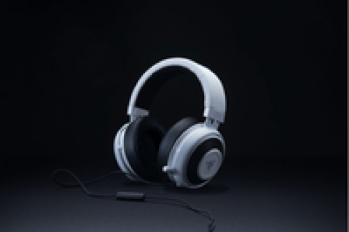 RAZER Kraken Pro V2 Stereo Gaming Headset for PC/Mac/PS4/Xbox One* Oval White – Bild 1