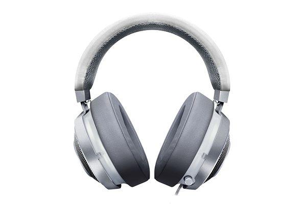 RAZER Kraken 7.1 V2 Surround Gaming Headset for PC/Mac/PS4* Oval Mercury White – Bild 2
