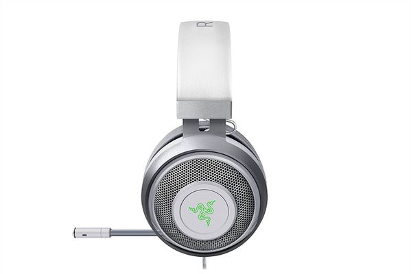 RAZER Kraken 7.1 V2 Surround Gaming Headset for PC/Mac/PS4* Oval Mercury White – Bild 3