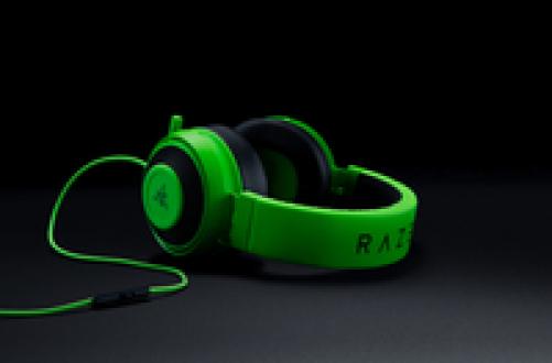 RAZER Kraken Pro V2 Stereo Gaming Headset for PC/Mac/PS4/Xbox One* Oval Green – Bild 1