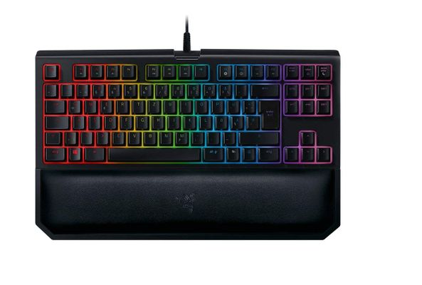 Razer BlackWidow Tournament Edition Chroma V2 Gaming Keyboard Yellow Switches (GBR Layout - QWERTY) – Bild 1