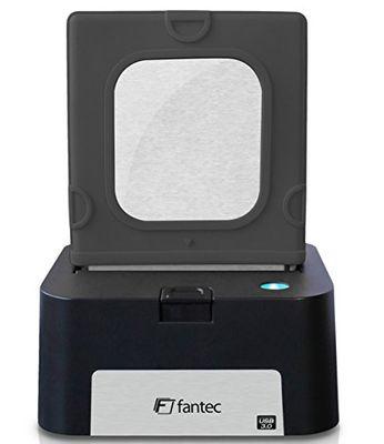 FANTEC 1816 Notebook-Hülle Silikon Schwarz HDD/SDD-Gehäuse – Bild 3