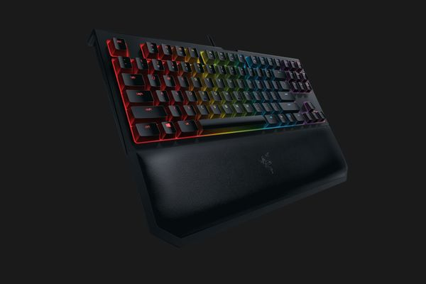 razer BlackWidow Tournament Edition Chroma V2 Mechanical Gaming Keyboard Yellow Switches Black (PRT Layout - QWERTY) – Bild 2