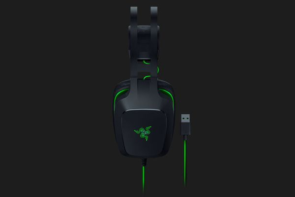 Razer Electra V2 USB Digital Gaming Headset virtual 7.1 Surround-Sound Black (for PC | Mac | PS4) – Bild 2