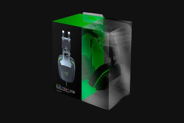 Razer Electra V2 USB Digital Gaming Headset virtual 7.1 Surround-Sound Black (for PC | Mac | PS4) – Bild 4