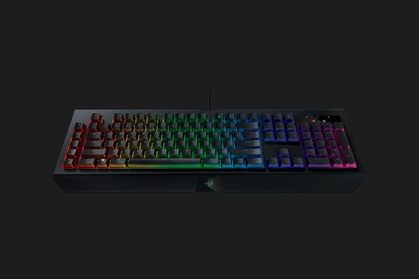 razer BlackWidow Chroma V2 Gaming Keyboard Yellow Switches (FRA Layout - AZERTY) – Bild 4