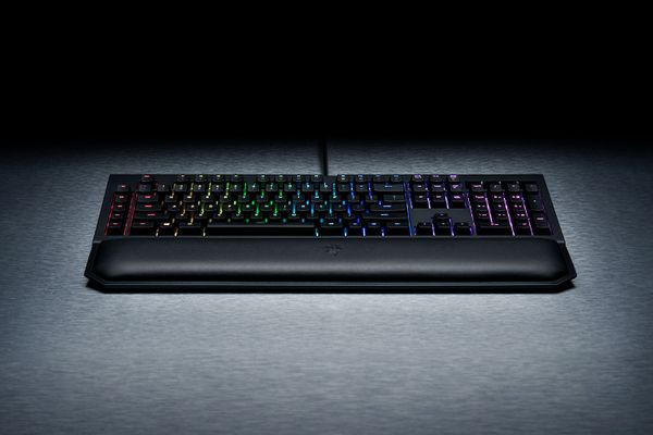 razer BlackWidow Chroma V2 Gaming Keyboard Yellow Switches (FRA Layout - AZERTY) – Bild 7