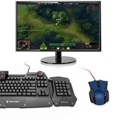 TeckNet Gaming Maus High Precision Programmierbare LED Maus – Bild 3