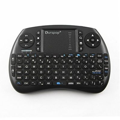 OURSPOP 2.4G Wireless Mini Qwerty Backlit Keyboards Combo for XBMC with Touchpad (OP-R7) – Bild 2