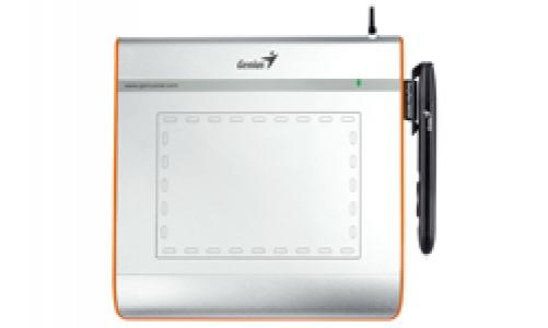 Genius EasyPen i405X 2540lpi 140 x 102mm USB Silber Grafiktablett – Bild 2