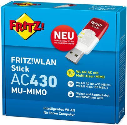 AVM FRITZ! USB WLAN Stick AC 430 MU-MIMO WLAN 433Mbit/s  – Bild 2