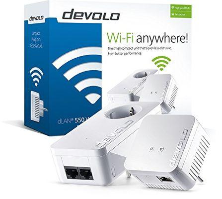devolo dLAN 550 WiFi Starter Kit 500Mbit/s Plug-Type F (EU) – Bild 2