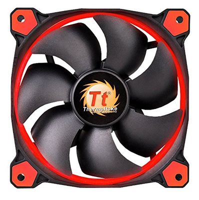 THERMALTAKE Ring 14 High Static Pressure 140mm Circular Ring Case Fan Red – Bild 4